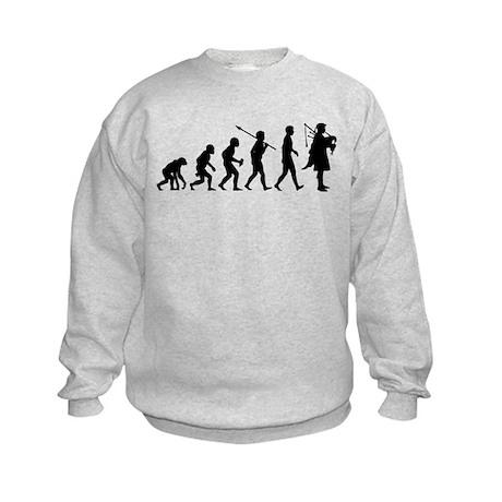 Bagpiper Kids Sweatshirt