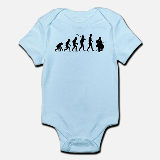 Cello Player Infant Bodysuit