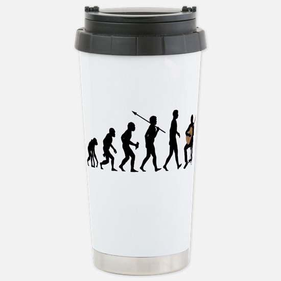 Classical Guitar Stainless Steel Travel Mug