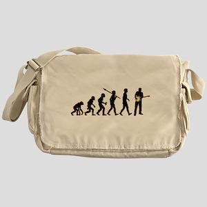 Banjo Player Messenger Bag