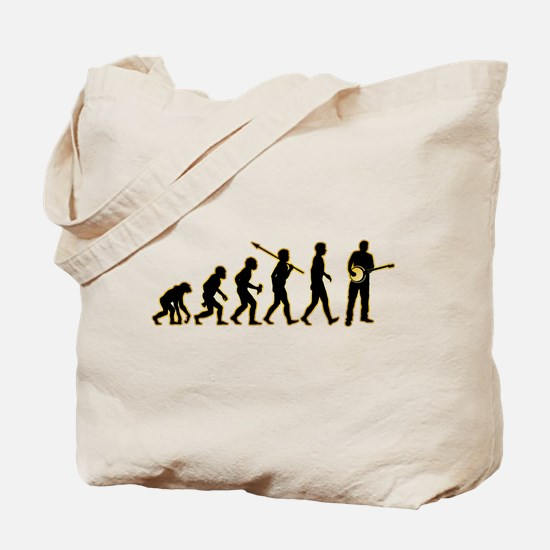 Banjo Player Tote Bag