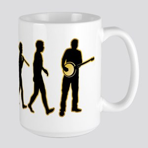 Banjo Player Large Mug