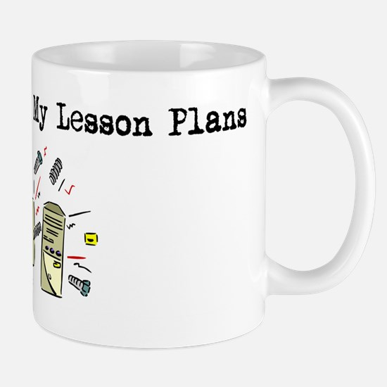 My Computer Ate My Lesson Pla Mug