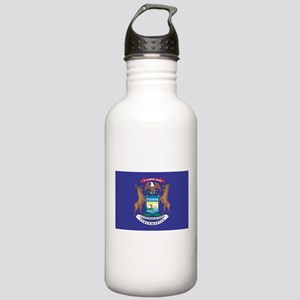 Michigan State Flag Stainless Water Bottle 1.0L