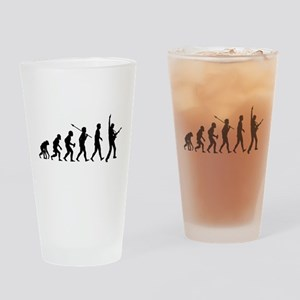 Guitar Player Drinking Glass
