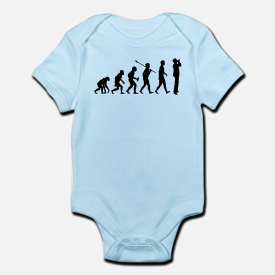 Harmonica Player Infant Bodysuit
