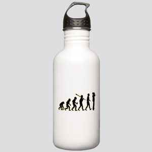 Harmonica Player Stainless Water Bottle 1.0L