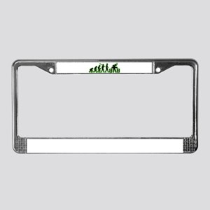 Disc Jockey License Plate Frame