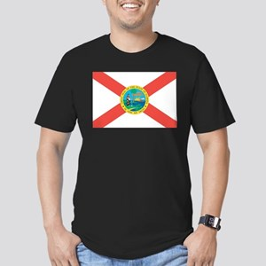 Florida State Flag Men's Fitted T-Shirt (dark)