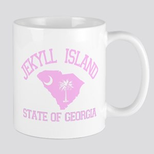 Jekyll Island GA - Map Design. Mug
