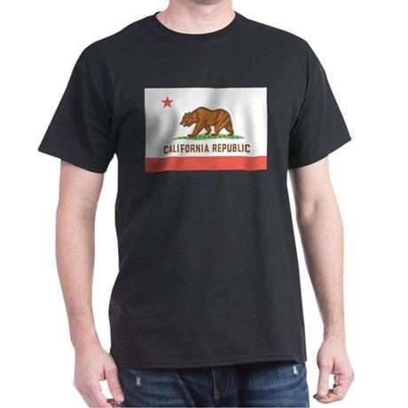 California State Flag Dark T-Shirt