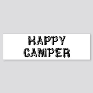 Happy Camper Sticker (Bumper)