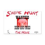 Snipe Hunt The Movie Rectangle Car Magnet