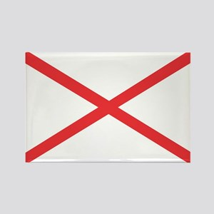 Alabama State Flag Rectangle Magnet