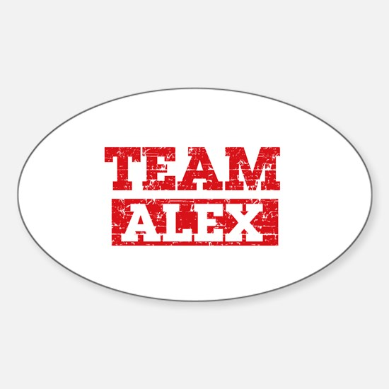 Team Alex Sticker (Oval)