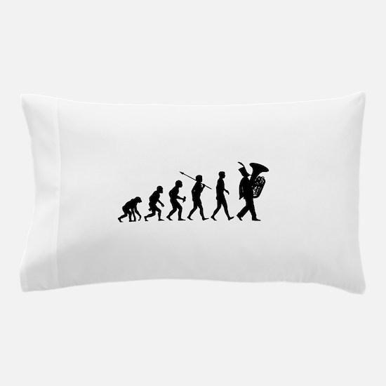 Tuba Player Pillow Case