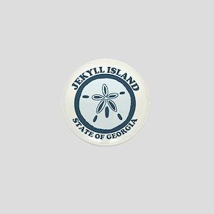 Jekyll Island GA - Sand Dollar Design. Mini Button