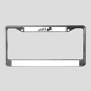 Pianist License Plate Frame
