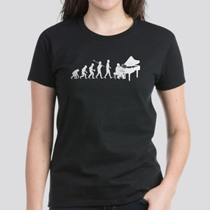 Pianist Women's Dark T-Shirt