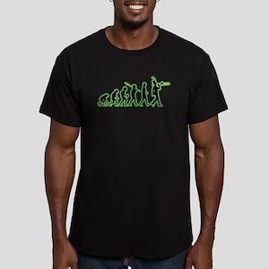 Trombone Men's Fitted T-Shirt (dark)