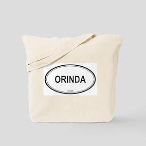 Orinda oval Tote Bag