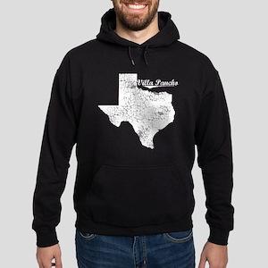 Villa Pancho, Texas. Vintage Hoodie (dark)
