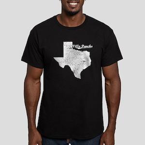 Villa Pancho, Texas. Vintage Men's Fitted T-Shirt