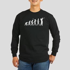 Trombone Player Long Sleeve Dark T-Shirt
