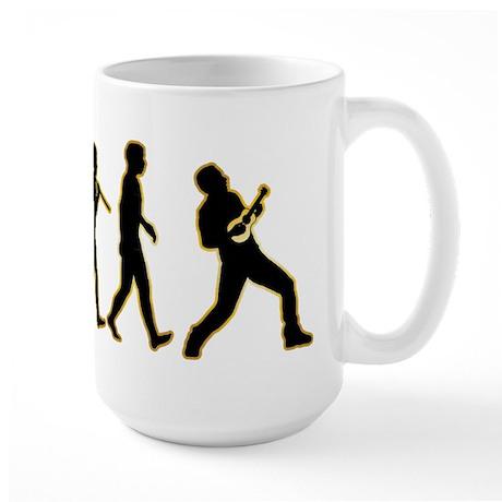 Ukulele Player Large Mug