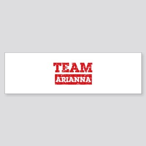 Team Arianna Sticker (Bumper)