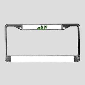 Tap Dancing License Plate Frame