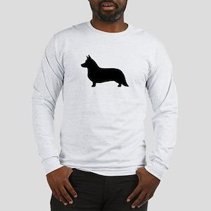 Cardigan Corgi Long Sleeve T-Shirt