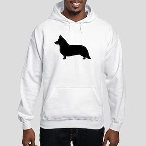 Cardigan Corgi Hooded Sweatshirt