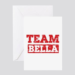 Team Bella Greeting Card
