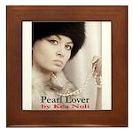 Pearl Lover Framed Tile