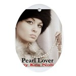 Pearl Lover Ornament (Oval)