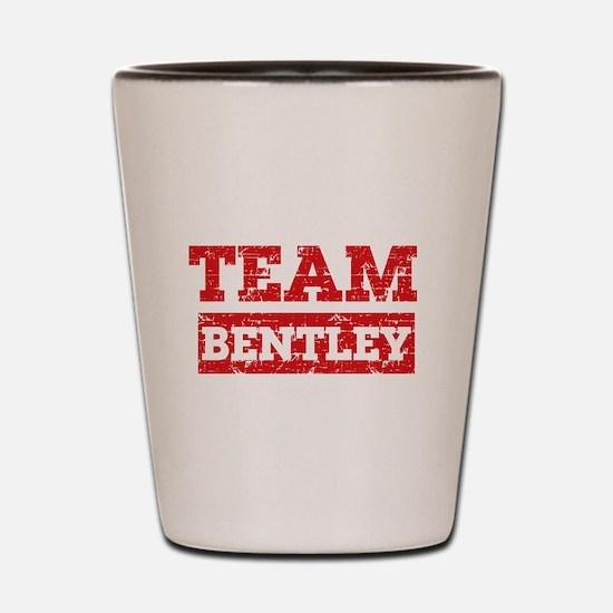 Team Bentley Shot Glass