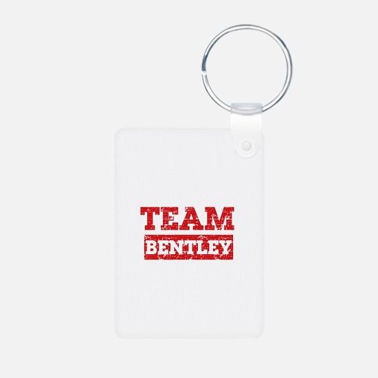 Team Bentley Aluminum Photo Keychain