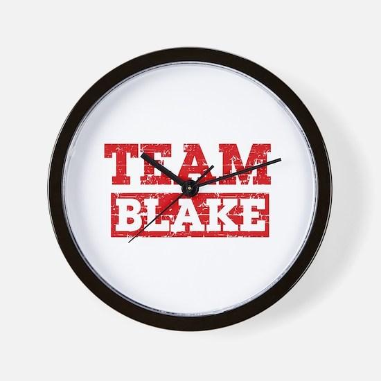 Team Blake Wall Clock