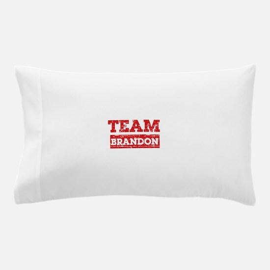Team Brandon Pillow Case