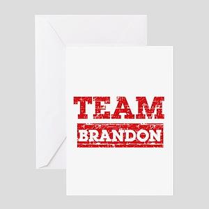 Team Brandon Greeting Card