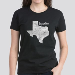 Josephine, Texas. Vintage Women's Dark T-Shirt