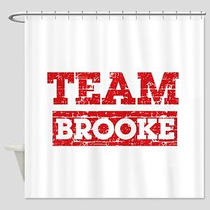 Team Brooke Shower Curtain