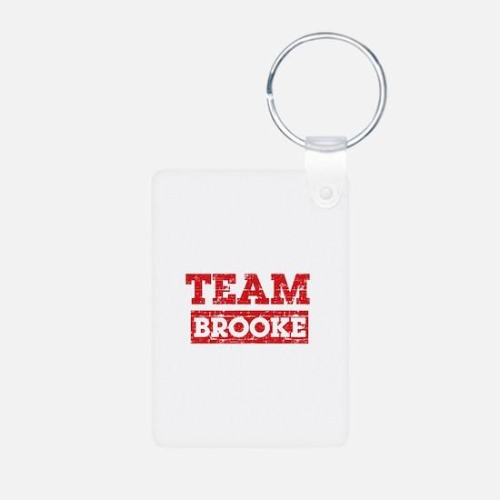 Team Brooke Keychains