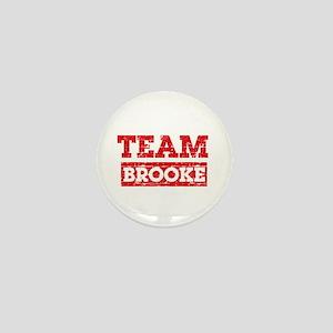 Team Brooke Mini Button