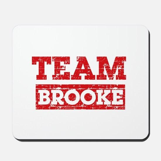 Team Brooke Mousepad