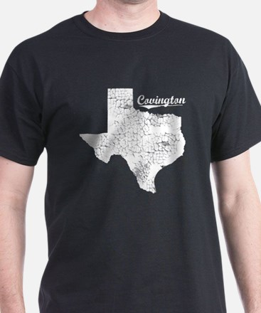 Covington, Texas. Vintage T-Shirt