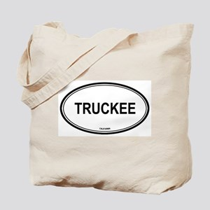 Truckee oval Tote Bag