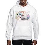 Tanaka Pin-up Poster Hooded Sweatshirt