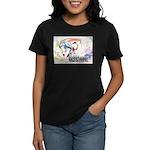 Tanaka Pin-up Poster Women's Dark T-Shirt